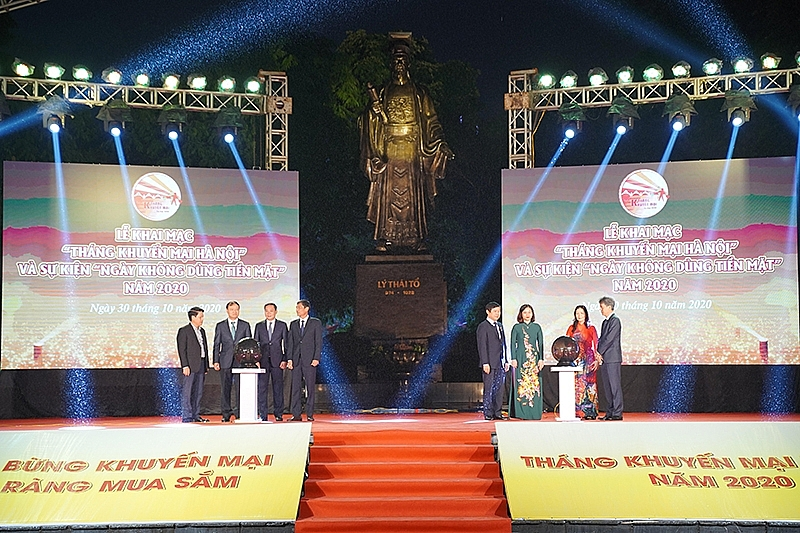 hanoi launches promotional month and cash free day 2020