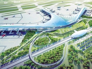 work on vietnams would be largest airport long thanh begins