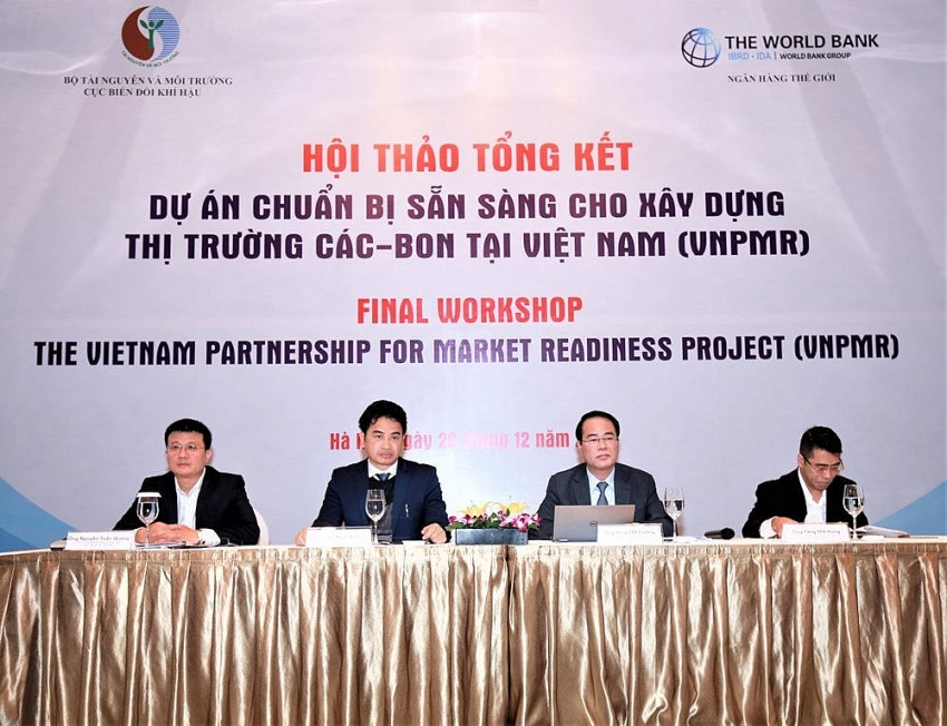 vietnam reports positive results from partnership project on carbon market formation
