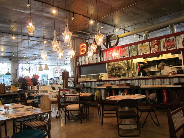 Cool cafe inside a design store in Mexico City. | Cafe design, Cool cafe,  Cafe bistro