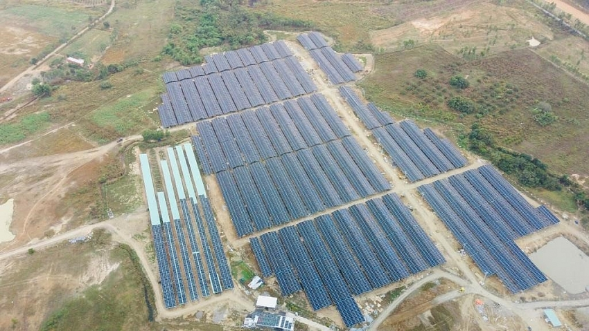 grand opening of 10mwp song binh rooftop solar farm in binh thuan