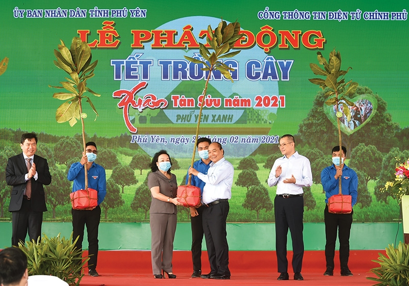 1533 p23 tree planting in phu yen lays roots for nationwide goal