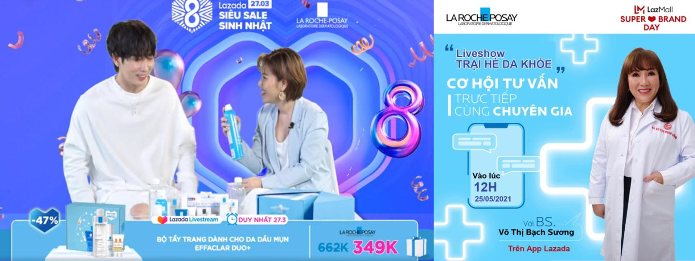 lazada and laroche posay to run years most attractive promotional programme on lazmall