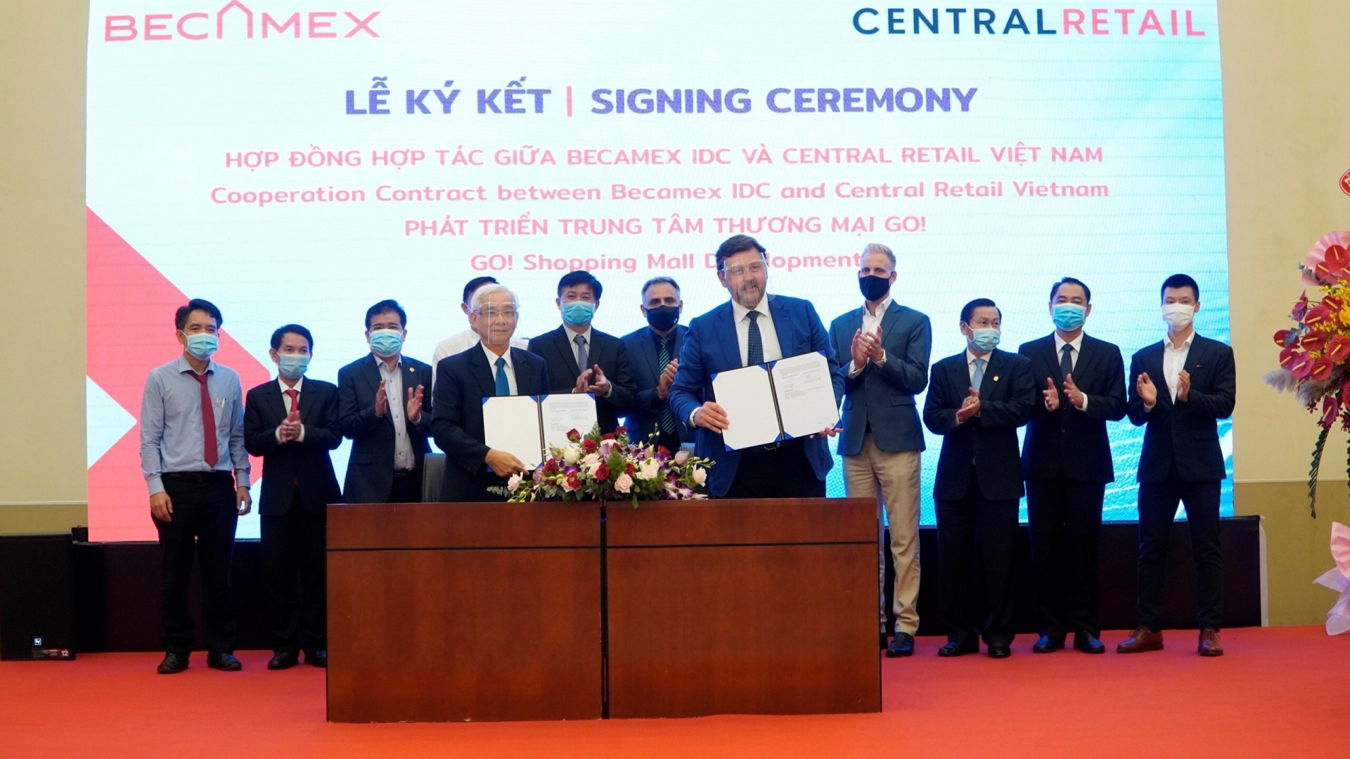 becamex idc and central retail vietnam co develop go shopping mall in binh duong