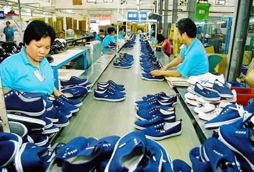 flourishing exports in textile and garment leather and footwear industries
