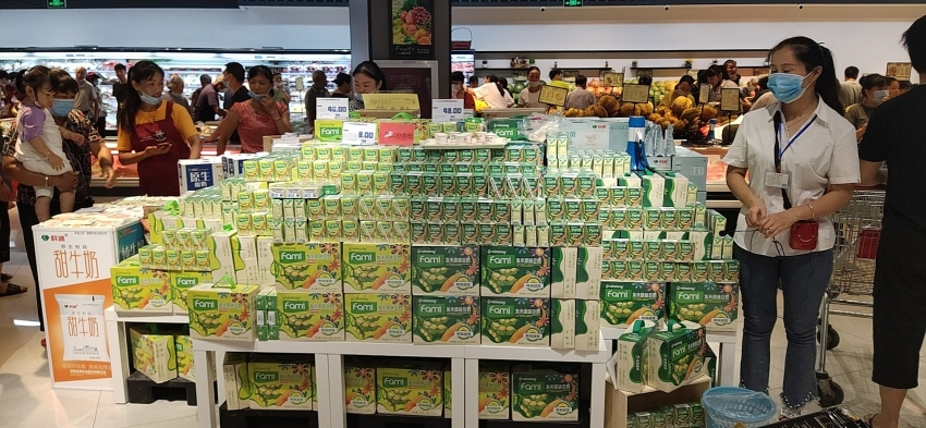 soymilk products of vinasoy make forays in china and japan