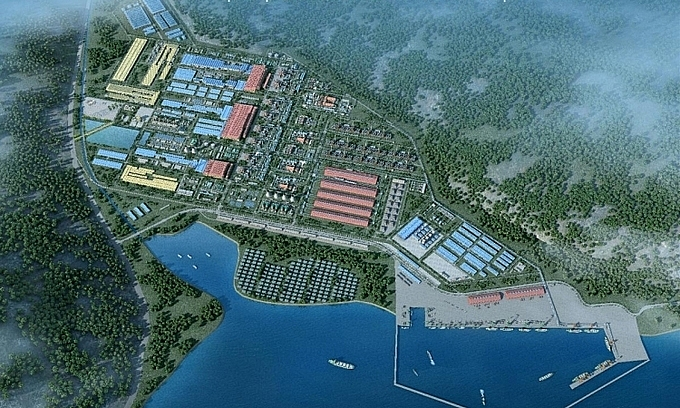 trung nam takes over ca na project complex to develop lng project