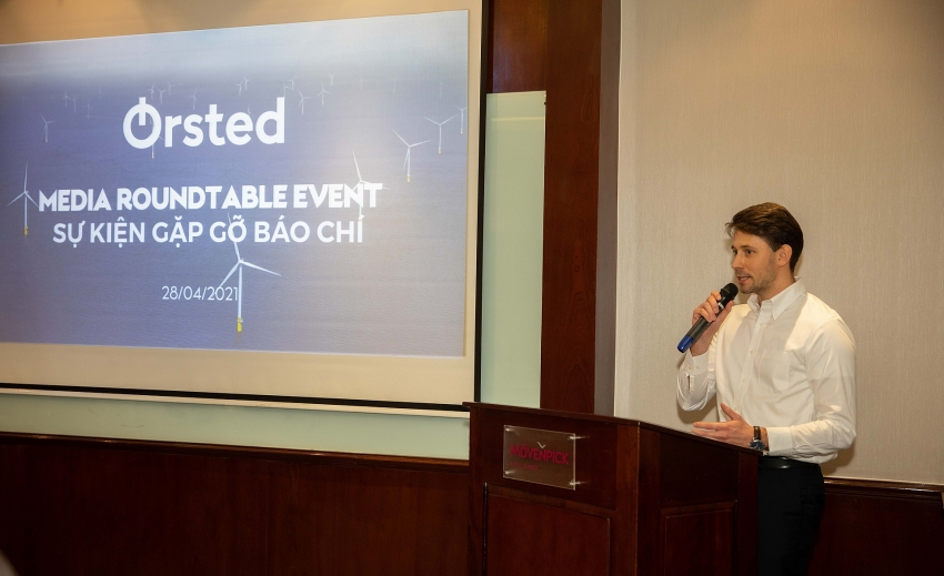 global offshore wind leader rsted to set up office in vietnam