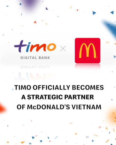 timo officially becomes strategic partner of mcdonalds in vietnam