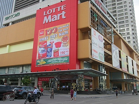 lotte mart closes centre in hanois mipec tower